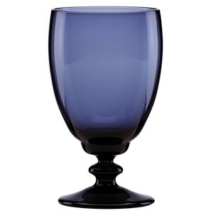 REED AND BARTON MAISON COULEUR LG GOBLET INDIGO