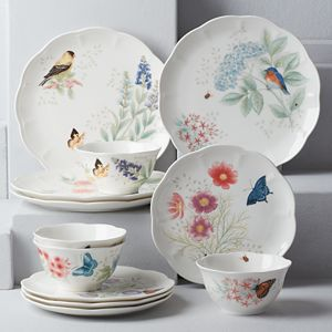 LENOX BUTTERFLY MEADOW FLUTTER Dinnerware