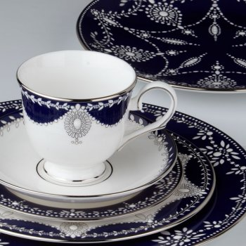 Marchesa by Lenox EMPIRE PEARL-INDIGO