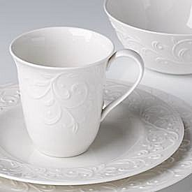 LENOX OPAL INNOCENCE CARVED Dinnerware