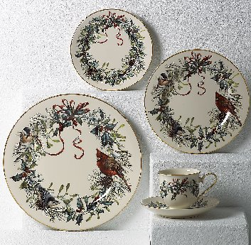LENOX WINTER GREETINGS Dinnerware