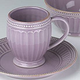 LENOX FRENCH PERLE GROOVE VIOLET