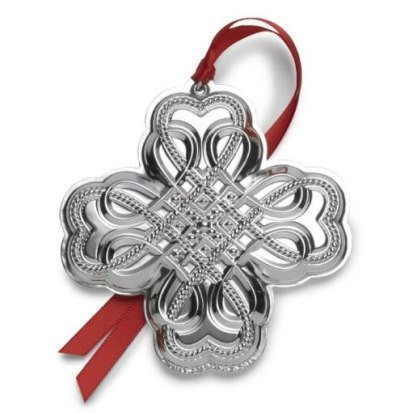 Towle 2019 Sterling Silver 20th edition Annual Celtic Ornament