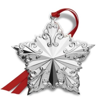 Towle 2019 Sterling Silver 23rd Edition Annual Star Ornament