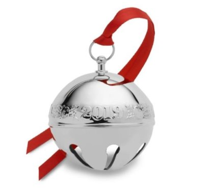 Wallace 2019 Sterling Silver 25th Edition Annual Sleigh Bell