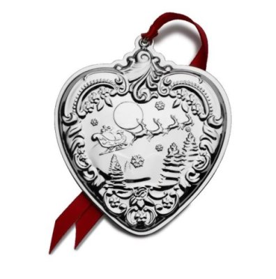 Wallace 2019 Sterling Silver 28th Edition Annual Grande Baroque Heart