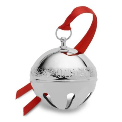 Wallace 2019 Silverplated 49th Edition Annual Sleigh Bell