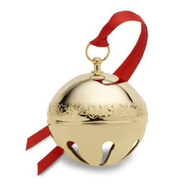 Wallace 2019 Gold-plated 30th Edition Annual Sleigh Bell