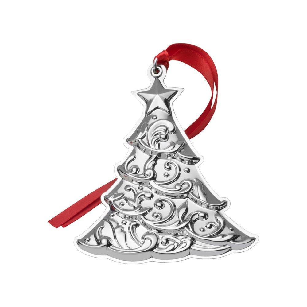 Gorham 2017 Sterling Christmas Tree Ornament  1st Edition