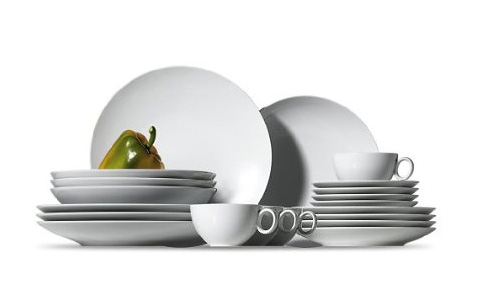 Beautiful plates stunning glassware and vases or serving pieces like bowls and platters. Discover the variety of Rosenthal premium classic and modern ...  sc 1 st  China Royale & Rosenthal Loft White Dinnerware | ChinaRoyale.com