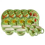 Lynn Chase Parrotdise 16pc Dinner Sets