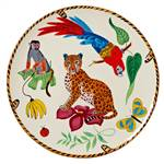 Lynn Chase Jungle Jubilee Dinner Plate