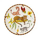 Lynn Chase Jungle Jubilee Salad Plate