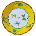 Lynn Chase Butterfly Bamboo Dinner Plate, Set of 4