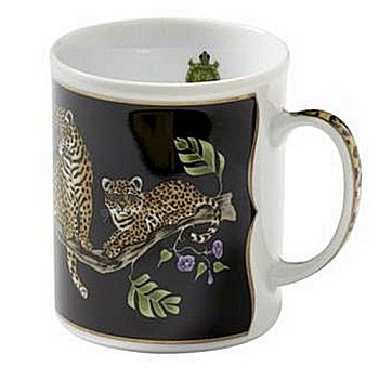Lynn Chase Jaguar Jungle Mug