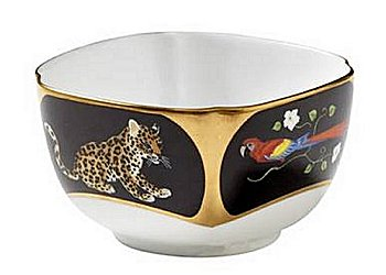 Lynn Chase Jaguar Jungle Sauce Bowl