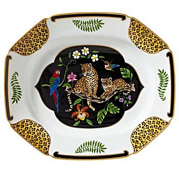 Lynn Chase Jaguar Jungle Platter