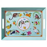 Lynn Chase Monkey Business Melamine Tray