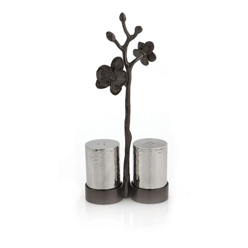 Michael Aram Black Orchid Salt and Pepper Shakers