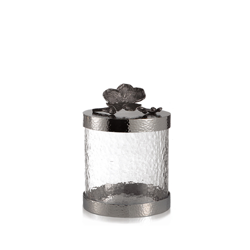 Michael Aram Black Orchid Canister Xs