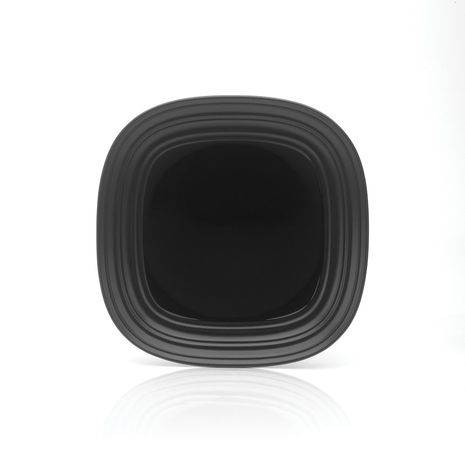 Mikasa SWIRL Square BLACK 8.5IN SALAD Plate