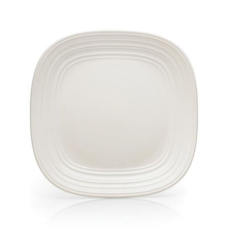 Mikasa SWIRL Square WHITE DINNER-11 IN
