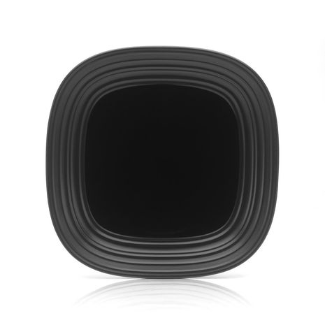 Mikasa SWIRL Square BLACK DINNER 11 IN