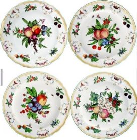 Mottahedeh Duke Of Gloucester Rim Soup Set Of 4
