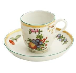 Mottahedeh Duke Of Gloucester Demi Cup And Saucer