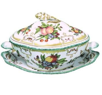 Mottahedeh Duke Of Gloucester Tureen And Oval Platter