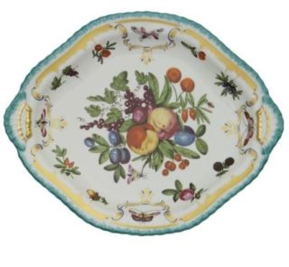 Mottahedeh Duke Of Gloucester Oval Platter