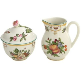 Mottahedeh Duke Of Gloucester Sugar And Creamer Set