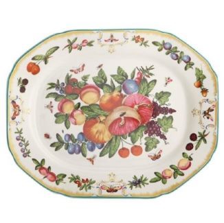 Mottahedeh Duke Of Gloucester 15 In Octagonal Platter