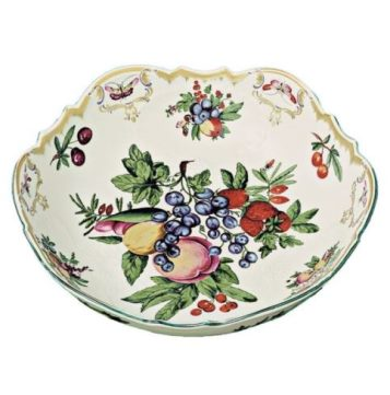 Mottahedeh Duke Of Gloucester Round Salad Bowl
