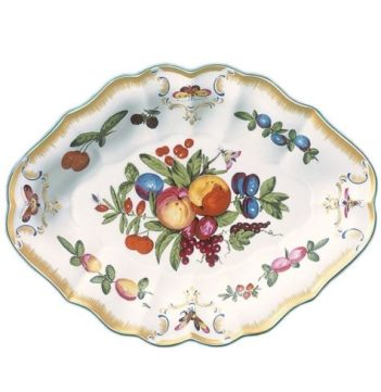 Mottahedeh Duke Of Gloucester Oval Dish