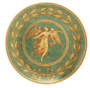 Mottahedeh Gabriel Green Luncheon Plate