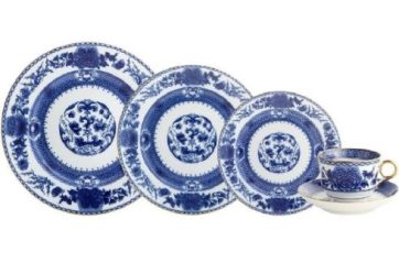 Mottahedeh Imperial Blue 5 Pc. Setting