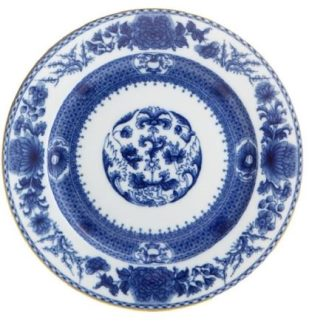 Mottahedeh Imperial Blue Dessert Plate
