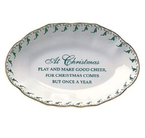 Mottahedeh Christmas Verse Tray