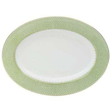 Mottahedeh Apple Lace Oval Platter
