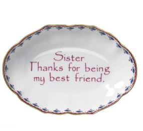 Mottahedeh Sister Verse Tray