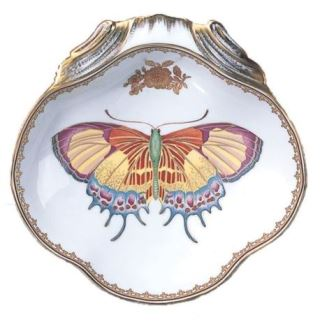 Mottahedeh Butterfly Shell Dish