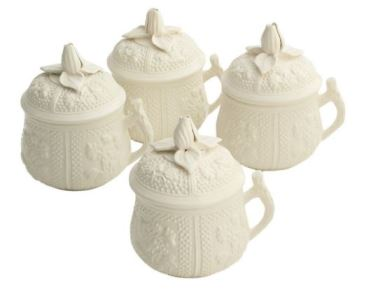 Mottahedeh Pot De Creme Set/4
