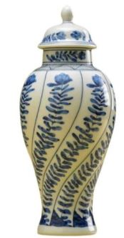 Mottahedeh Vung Tau Miniature Covered Vase