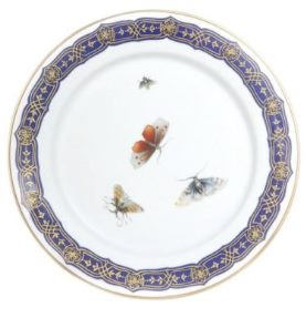 Mottahedeh Merian Bread And Butter Plate