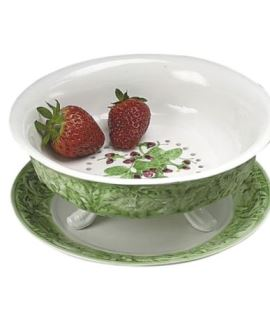 Mottahedeh Strawberry Strainer With Stand