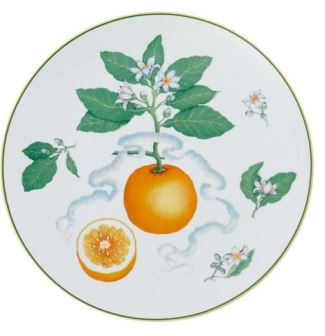 Mottahedeh Orange Service Plate