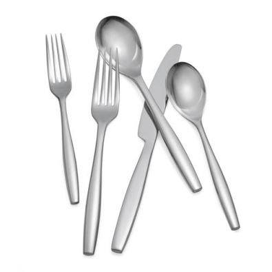 Nambe Aidan Flatware  - 5 Piece Place Setting  - 18/10 Stainless Steel
