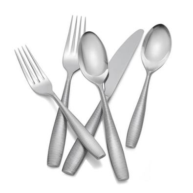 Nambe Fiona 5 Piece Place Setting - 18/10 Stainless Steel