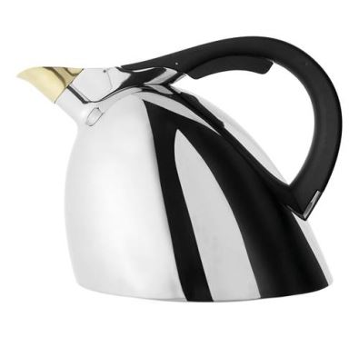 Nambe Chirp Kettle - Stainless Steel